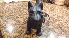 Scottie Dog Door Stop - Solid 3 Dimensional Cast Iron Dog
