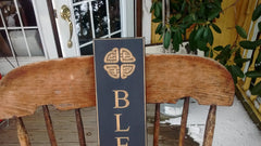 Wooden Sign Made in USA Green or White 30 Inches Long Olde Church Emporium Amish Made