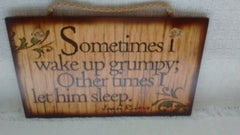 Assorted Wooden Signs  - Humor, Proverbs, - Made in USA