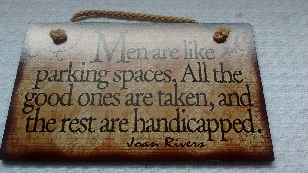 Assorted Wooden Signs  - Humor, Proverbs, - Made in USA - Olde Church Emporium