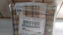 Park Designs Meadow Layered Lined Valance 72 inches x 16 inches