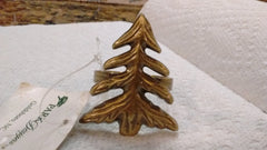 Park Designs - FirTree Antique Brass Napkin Rings