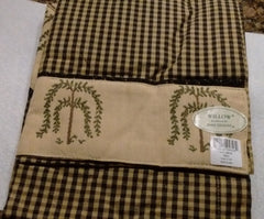 Park Designs - Willow  Single Point Valances 29 x 22 Inches - Olde Church Emporium