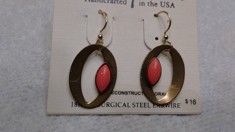 Silver Forest Hand Crafted Earrings Made in USA - Item NE 0780A