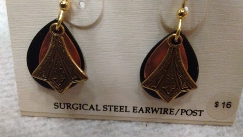 Silver Forest Hand Crafted Earrings Made in USA - Item E6631