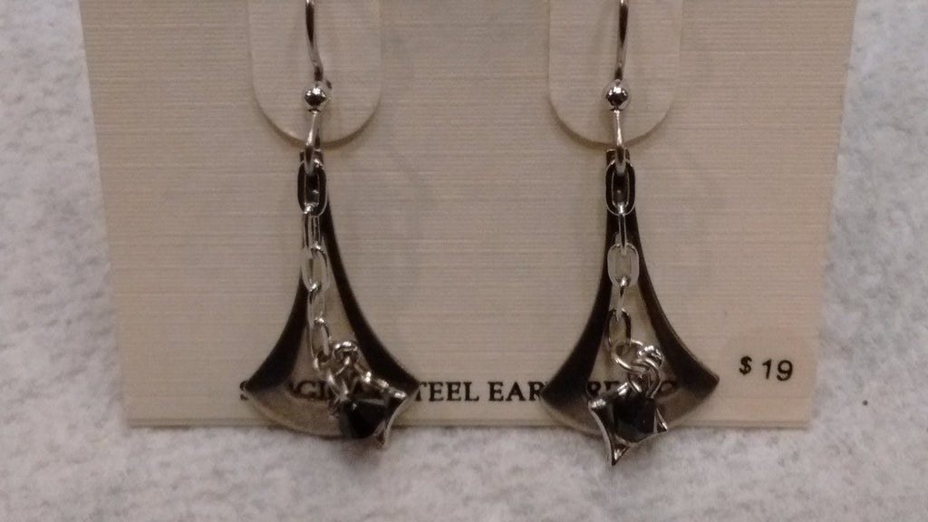 Silver Forest Hand Crafted Earrings Made in USA - Item NE0537 - Olde Church Emporium