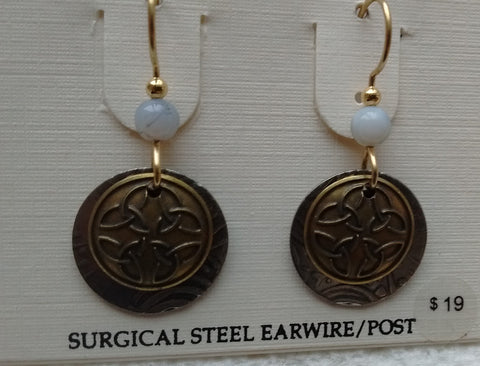 Silver Forest Hand Crafted Earrings Made in USA - Item E6400