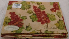 Park Design -Vineyard Unlined Valance  72 x 14 Inches Hand Printed - Olde Church Emporium
