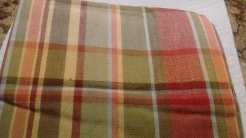 Park Design - Sassafras Plaid Unlined Swag Pair -  72 x 36 Inches Farmhouse Country