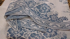 Heritage Lace Les Fleurs Decorative Tablecloth 54 Inches Made in USA