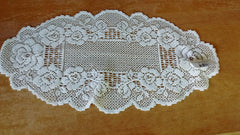 Heritage Lace English Country Rose Collection - Curtains, Placemats, Doilies, Runners, Made in U.S.A.