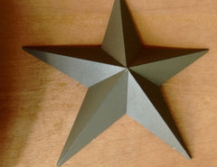 Americana Metal Barn Star Wall Decor, 2 Sizes 18-Inches and 12 Inches - Olde Church Emporium