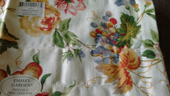 Park Design -Emma's Garden Valances 72 x 14 Inches 100% Cotton - Olde Church Emporium