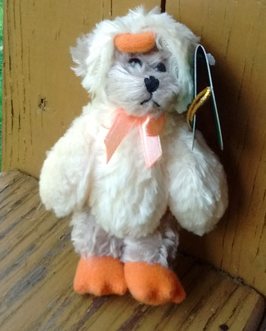 Bearington Miniature Duck Bear Izzy A Duck 4.5 Inches Collectible Retired