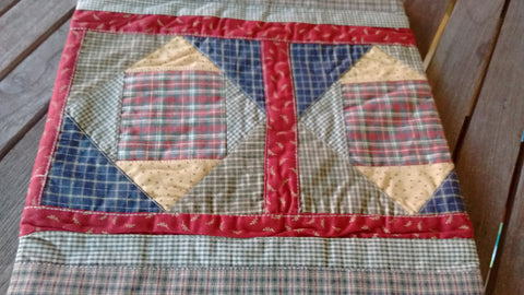 Park Design - Cabin Quilt Runners 2 Sizes 13 x 36 or 54 Inches Free Shipping