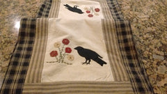 Park Design Two Old Crows Runners 2 Sizes 13 x 36 or 54 Inches Free Shipping