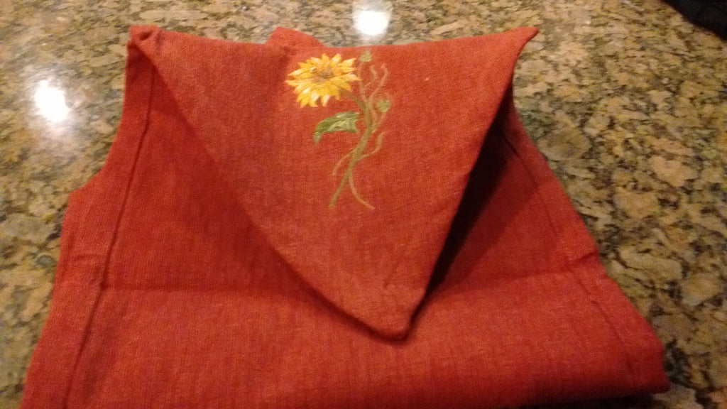 Park Designs Sunflower Table Runners  13 x 42 Inches Appliqued Free Shipping