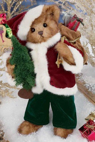 Bearington Bears 2012 Holiday Musical Limited Edition Kris Kringleton- Retired