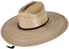 Tula Straw Hat - Lifeguard with Stretch Sweatband - Unisex - 2 Sizes - Olde Church Emporium