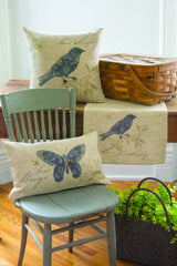 Heritage Lace - Meadow Song Collection - Home textiles in Natural Color - Olde Church Emporium