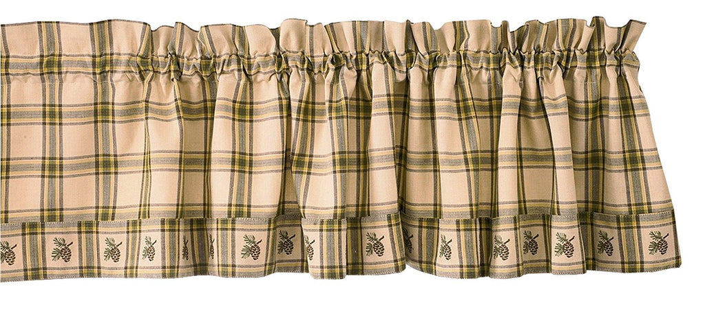 Park Designs -Pine Lodge Valance 72 x 14 Inches - Olde Church Emporium