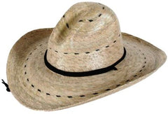 Tula Straw Hat - Pecos with Stretch Sweatband - Unisex