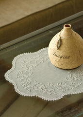 Heritage Lace - Sheer Divine Collection - Curtains, Runners, Doilies, Placemats, Table Toppers - Olde Church Emporium