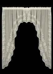 Heritage Lace - Sheer Divine Collection - Curtains, Runners, Doilies, Placemats, Table Toppers