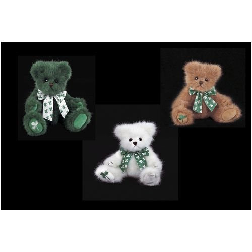 Bearington -Shamrock Bears 8 Inches and Retired 3 Styles - Olde Church Emporium