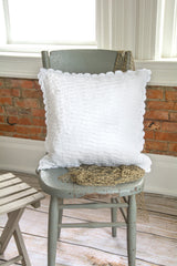 Heritage Lace - Seabreeze Collection - Pillows in White Color