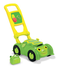 Melissa & Doug - Sunny Patch Tootle Turtle Mower With Storage Compartment [Home Decor]- Olde Church Emporium