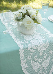 Heritage Lace Victorian Rose Collection - Curtains,Tablecloths, Doilies, Placemats, Runners, Home Textiles, etc.