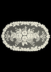 Heritage Lace - Victorian Rose Collection - Curtains,Tablecloths, Doilies, Placemats, Runners, Home Textiles, etc.