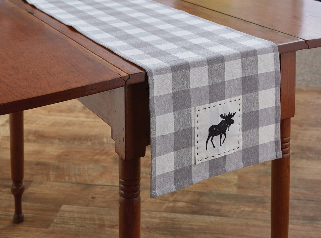 Park Designs Wicklow Moose Table Runner 2 Sizes 36 and 54 Inches - Olde Church Emporium