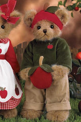 "Bearington - Fall Halloween Bear ""Adam Apple"" - 14 Inches"