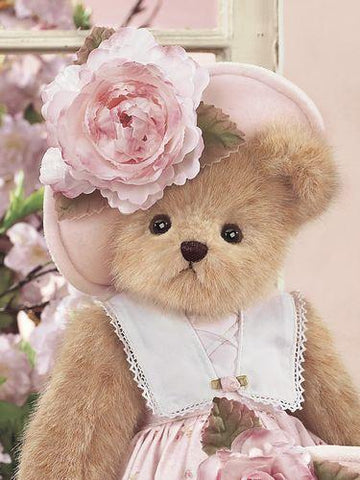 Bearington Abby Rose 14 Inch, Retired and Collectible