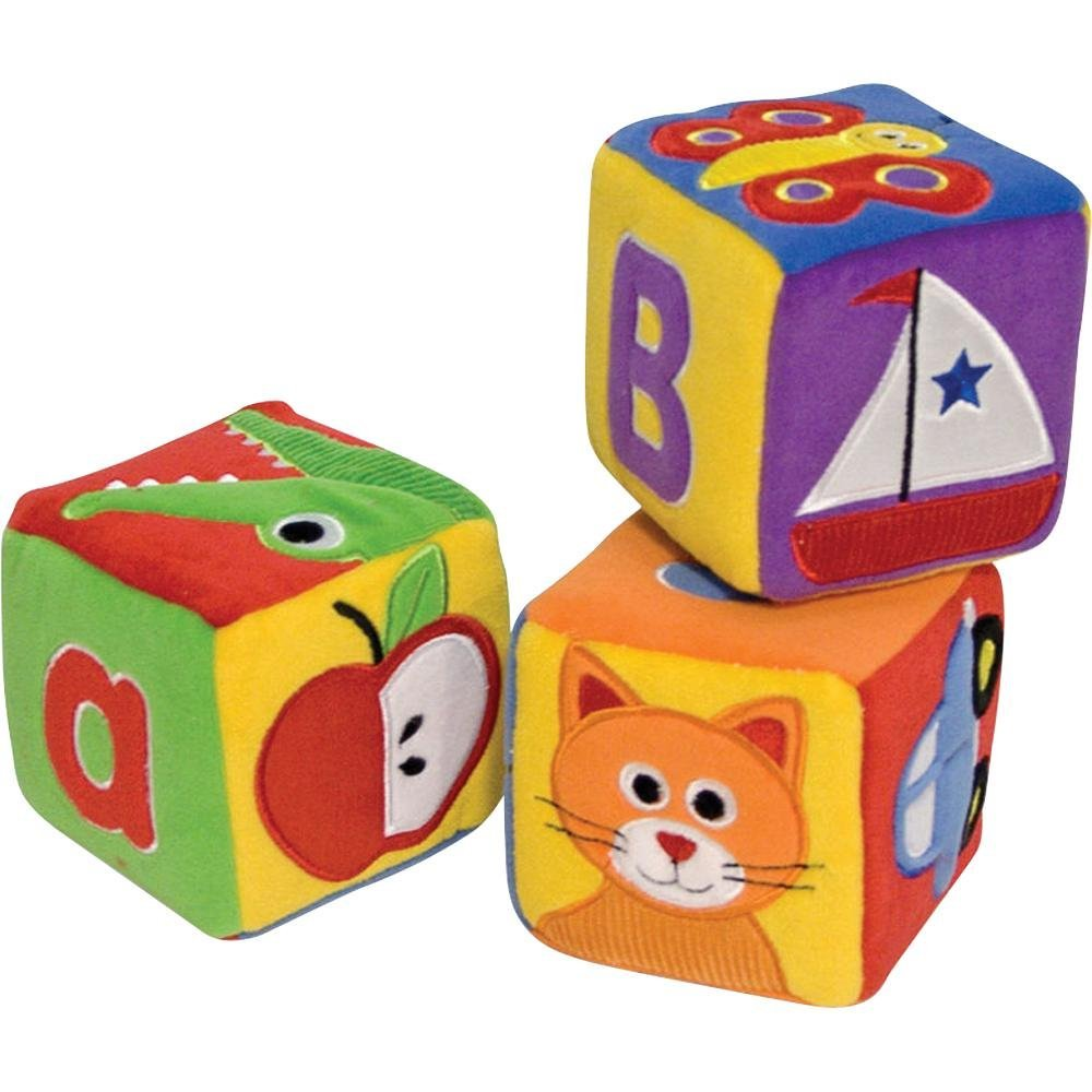 Melissa & Doug - Soft ABC Blocks Toddlers First Play Ages 1+ [Home Decor]- Olde Church Emporium