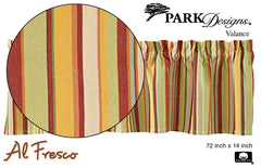 Park Designs - Al Fresco Valance - 72 x 14 inches [Home Decor]- Olde Church Emporium