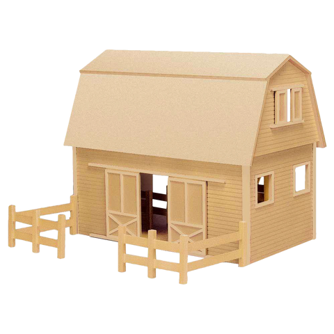 Ruff 'n Rustic All American Barn Dollhouse Kit  by Real Good Toys