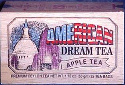 american dream box of tea bags