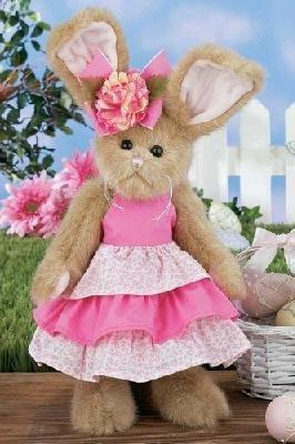 "Bearington Bunny Rabbit Arianna 14"" Plush Retired"