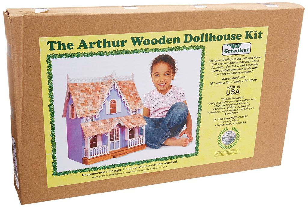 Greenleaf  - Arthur Dollhouse Kit - Olde Church Emporium