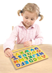Melissa & Doug - Alphabet Sound Puzzle - Wooden Puzzle With Sound Effects (26 pcs) [Home Decor]- Olde Church Emporium