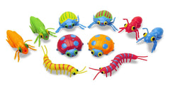Melissa & Doug - Sunny Patch Bag of Bugs 10 Pieces Ages 3+ [Home Decor]- Olde Church Emporium