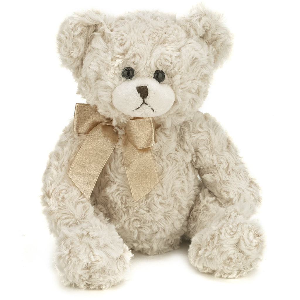 "Bearington -  White stuffed Bear ""Baby Huggles"" - 10 Inches - Olde Church Emporium"
