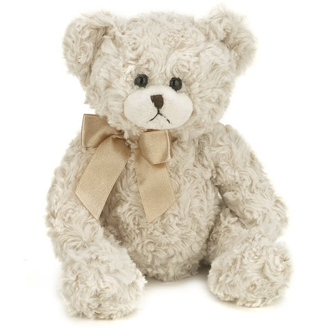 "Bearington -  White stuffed Bear ""Baby Huggles"" - 10 Inches"