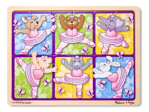 Melissa & Doug  24 Piece Ballerinas and Butterflies Jigsaw Puzzle
