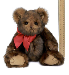 Bearington - Baby Heartford Teddy Bear Stuffed Animal Toy 11 Inches - Olde Church Emporium