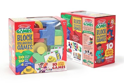 Melissa & Doug - Block Balancing Games Ages 4+ [Home Decor]- Olde Church Emporium
