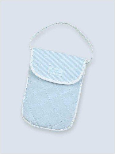 Bearington - Bradford Estate Collection - Blue Diaper & Wipe Holder